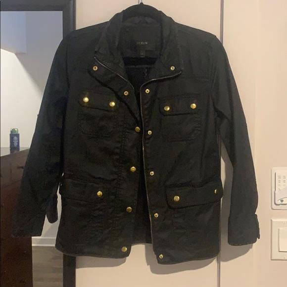 J. Crew Jackets & Blazers - Black Utility Jacket